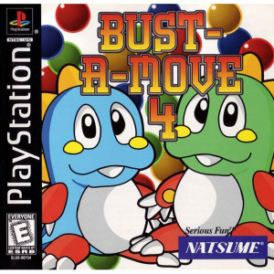 Bust A Move 4 - PS1 Game