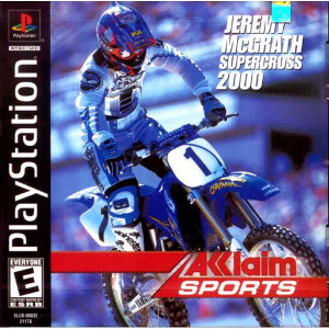 Jeremy Mcgrath Supercross 2000 - PS1 Game