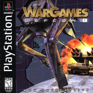 War Games Defcon 1 - PS1 Game