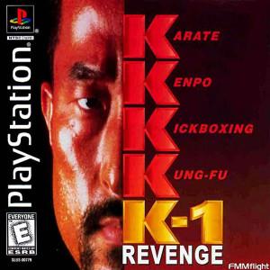 K-1 Revenge - PS1 Game