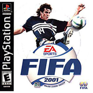 Fifa 2001 - PS1 Game