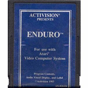 Enduro (Blue Label) - Atari 2600 Game