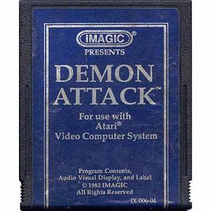 Demon Attack (Blue Label) - Atari 2600 Game