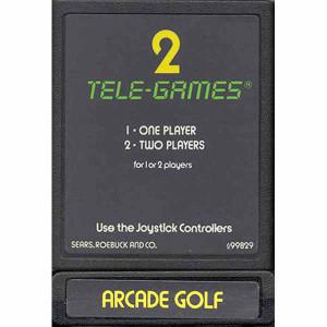 Arcade Golf - Atari 2600 Game