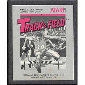 Track & Field - Atari 2600 Game