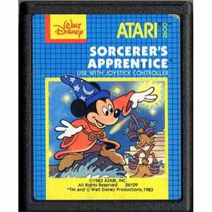 Sorcerer's Apprentice, Disney's - Atari 2600 Game