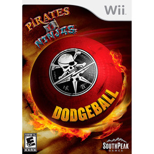 Pirates VS Ninjas Dodgeball - Wii Game