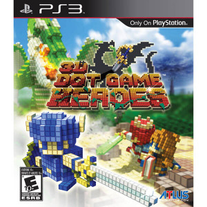3D Dot Game Heroes - PS3 Game