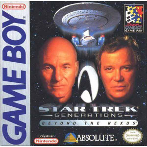 Star Trek Generations Beyond the Nexus Game Boy Game