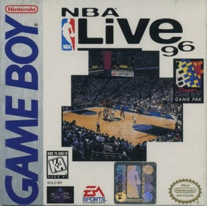 NBA Live 96 - Game Boy Game