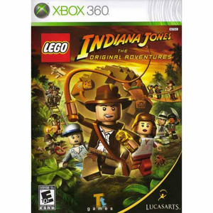 Lego Indiana Jones The Original Adventures - Xbox 360 Game
