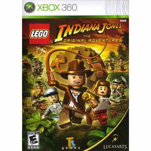Lego Indiana Jones The Original Adventures - Xbox 360 Game