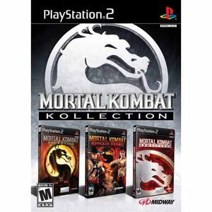 Complete Mortal Kombat Kollection - PS2 Game