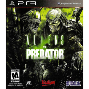 Aliens vs Predator - PS3 Game