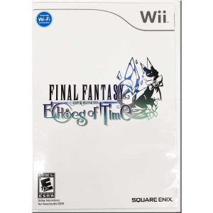 Final Fantasy Crystal Chronicles Echoes of Time Nintendo Wii Game