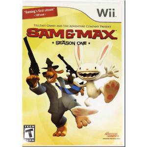 Sam & Max Season One Nintendo Wii Game