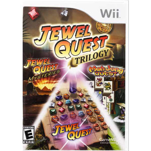 Jewel Quest Trilogy Nintendo Wii Game for sale.