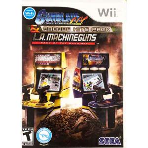 Arcade Gunblade NY & LA Machineguns Nintendo Wii Game for sale.