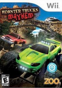 New Monster Trucks Mayhem - Wii Game