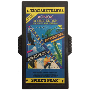Artillery Duel / Spike's Peak - Atari 2600 Game Double Ender