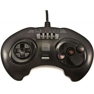 High Frequency 3 Button Black Controller - Genesis