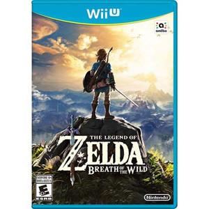 Legend of Zelda: Breath of the Wild - Wii U Game