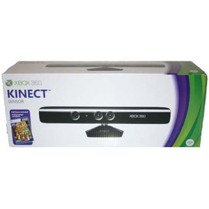 Complete Official Xbox 360 Kinect Sensor Bundle in box for Xbox 360