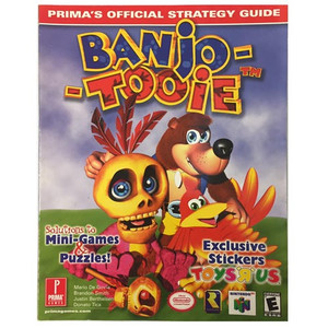 Banjo-Tooie - Prima Strategy Guide