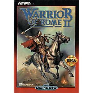Warrior of Rome II - Genesis Game