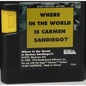 Where In The World Is Carmen Sandiego? - Genesis Game