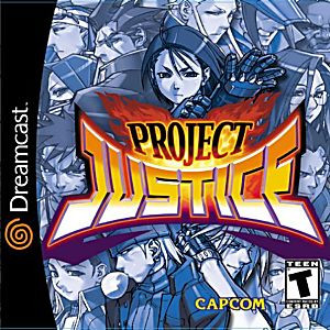 Project Justice - Dreamcast Game