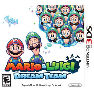 Mario & Luigi Dream Team - 3DS Game