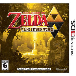 Legend of Zelda a Link Between Worlds - 3DS Game