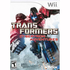 Transformers Cybertron Adventures - Wii Game