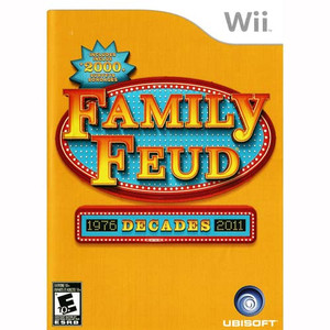 Family Feud Decades - Wii Game