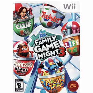 Family Game Night 3 - Wii Game