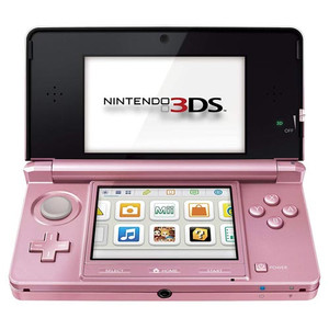 Nintendo 3DS Pink Open