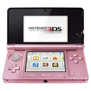 Nintendo 3DS Pink Open
