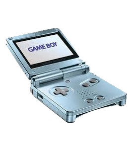 Game Boy Advance SP Sky Blue