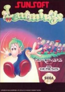 Lemmings - Genesis Game