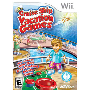 Cruise Ship Vacation Games - Wii Game