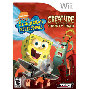 SpongeBob Squarepants Creature From The Krusty Krab - Wii  Game