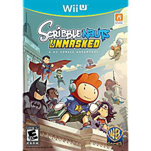 Scribblenauts Unmasked - Wii U Game