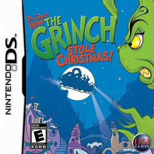 Dr. Seuss How The Grinch Stole Christmas! - DS Game