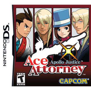 Apollo Justice Ace Attorney - DS Game
