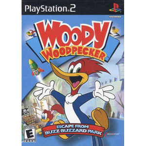 Woody Woodpecker - PS2 Game