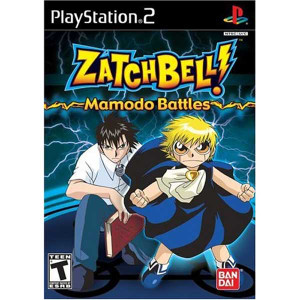 Zatch Bell! Mamodo Battles - PS2 Game