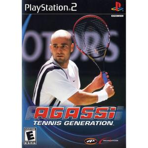 Agassi Tennis Generation - PS2 Game