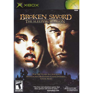 Broken Sword The Sleeping Dragon - Xbox Game