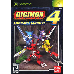 Digimon World 4 - Xbox Game